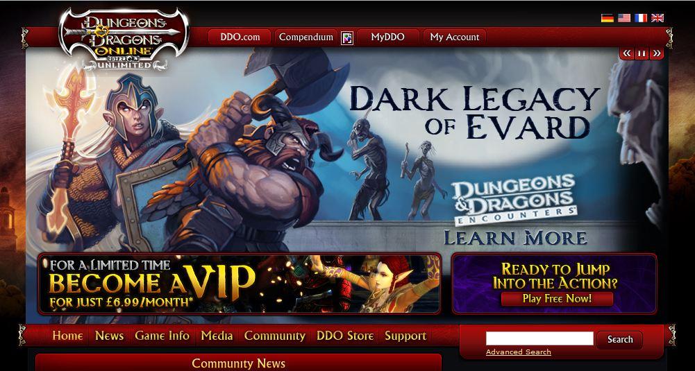 Dark Legacy of Evard Ad
