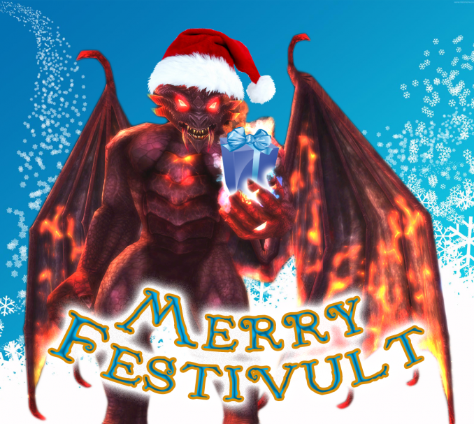 Merry Festivult from Arraetrikos!